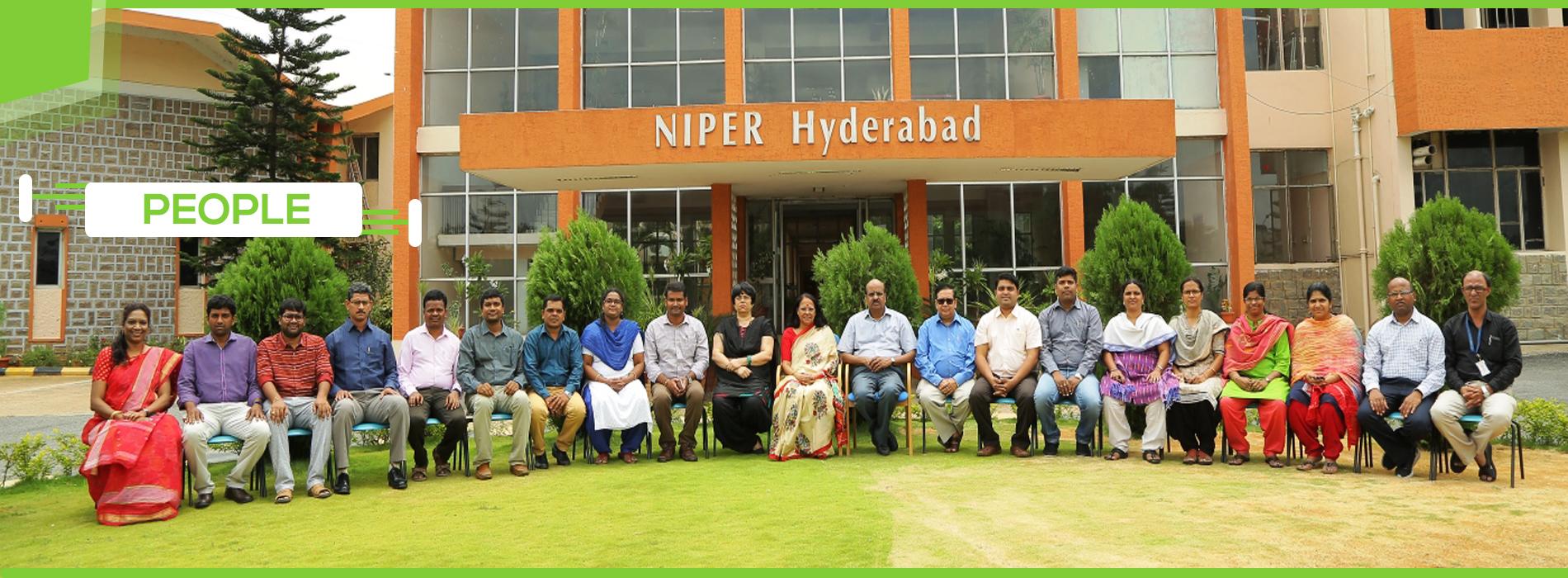 People- NIPER, Hyderabad